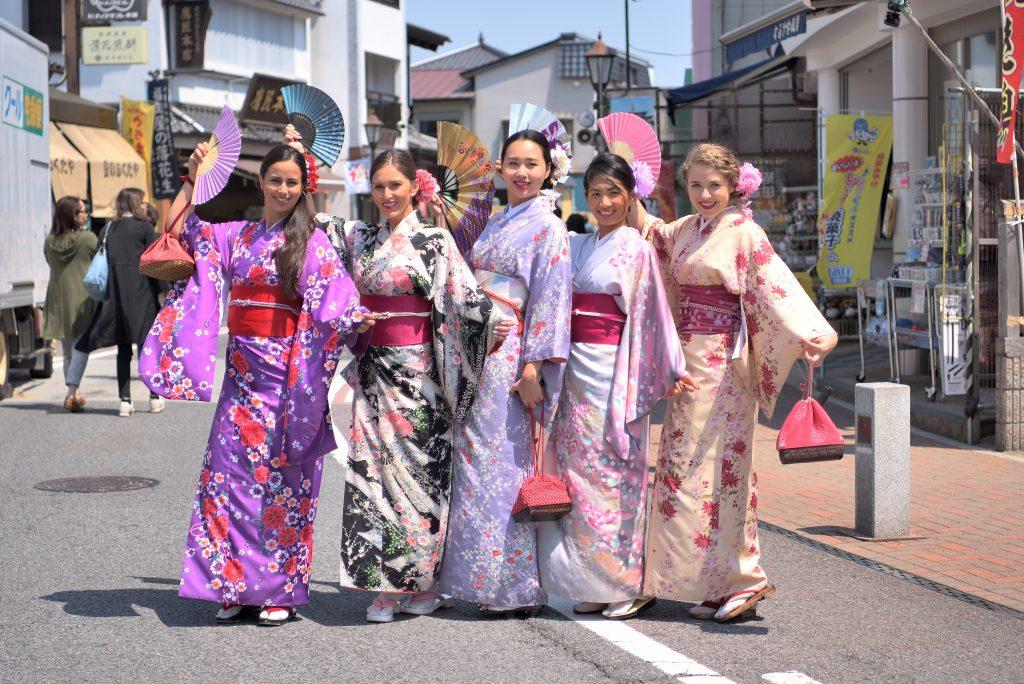 Kimono Sudio HANABI NARITA