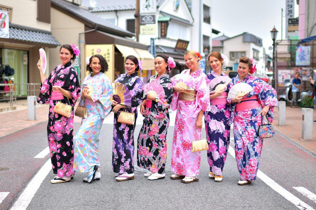 kimono experience narita