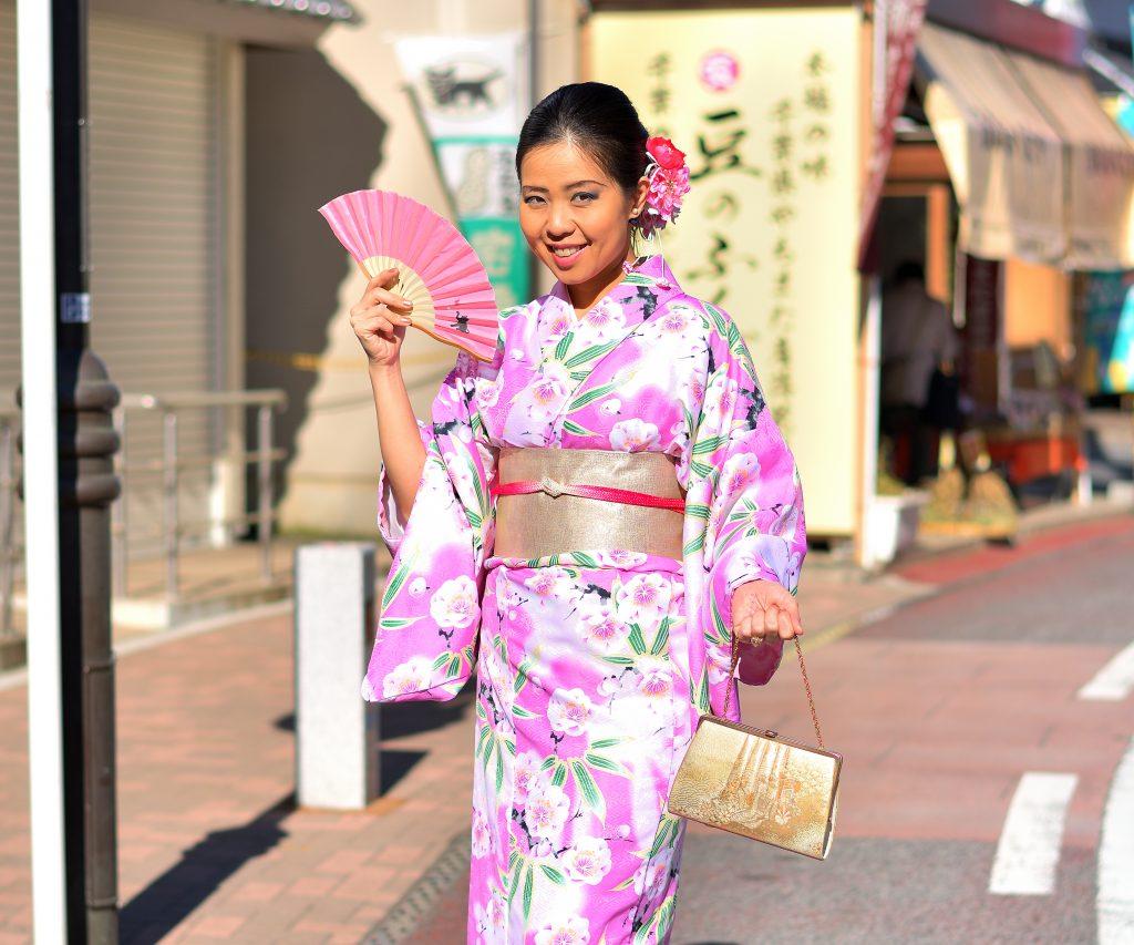 kimono experience narita japan